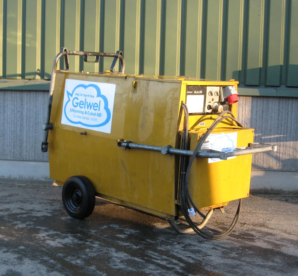 Byggtork luftfärmare Diesel ALA 80