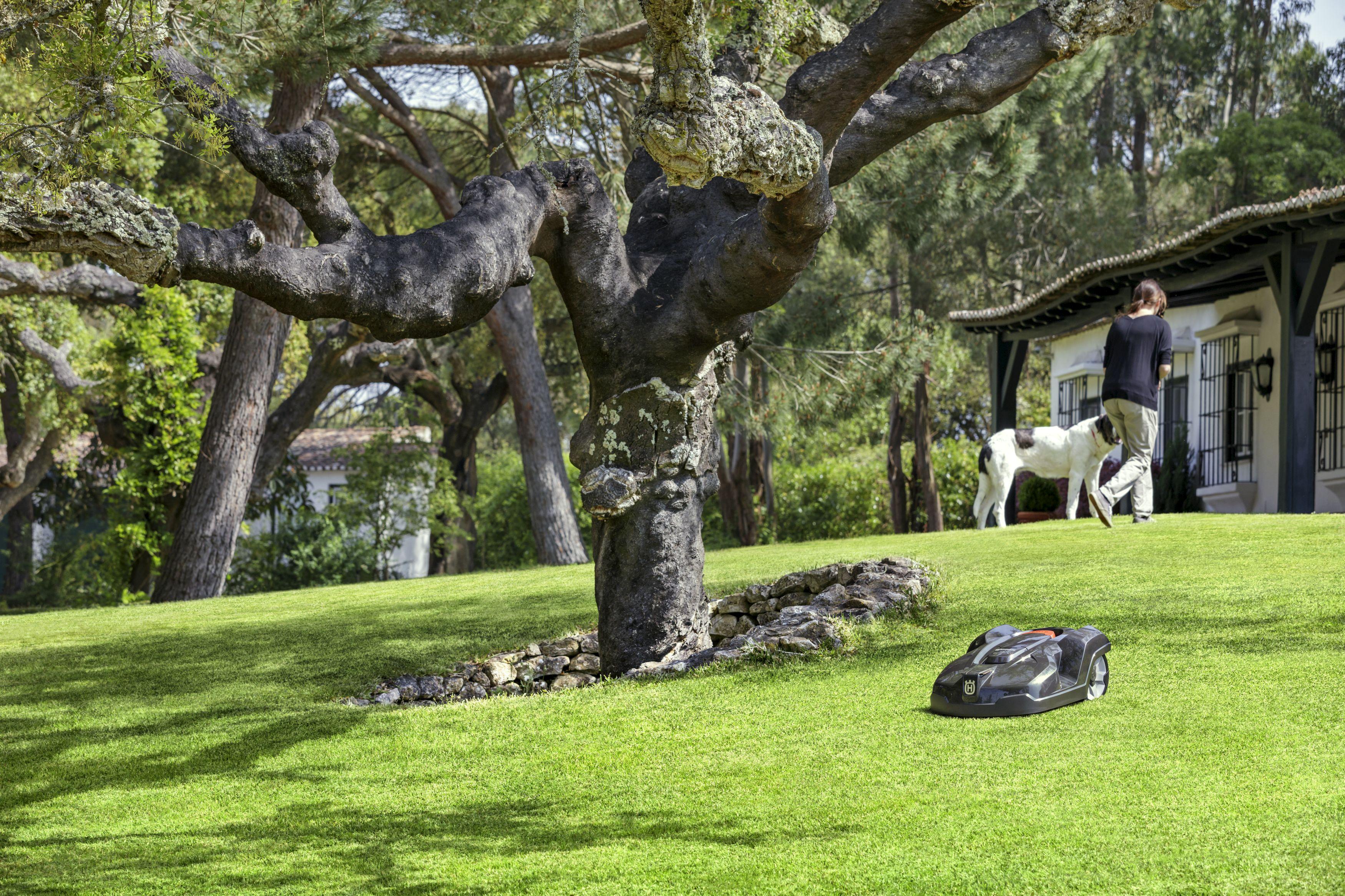 Husqvaran gräsklippare