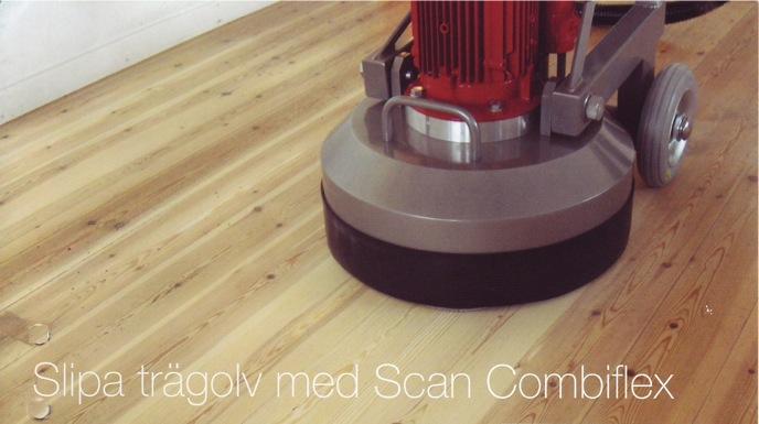 Scan combiflex för trägolv