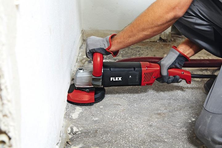 Flex betongslip handhållen
