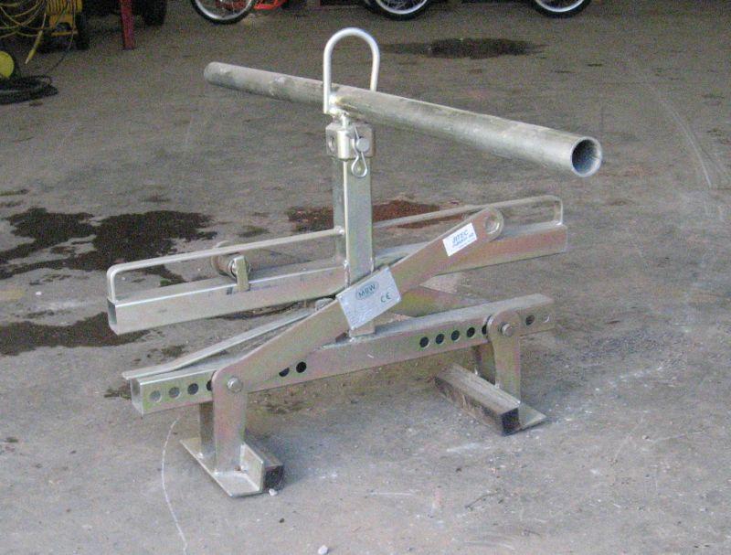 Lyftas för sten, manuell eller tillsammans med maskin